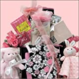 Great Arrivals Baby Gift Basket, Welcome Home Baby Girl