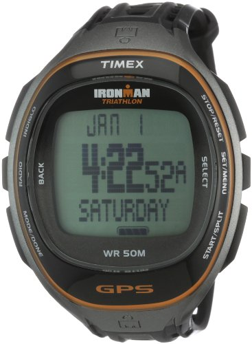 Cheap TIMEX Fullsize Ironman Run Trainer GPS Sports Watch (T5K549)