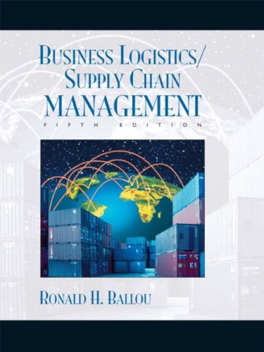 Business Logistics/Supply Chain Management and Logware CD Package...
