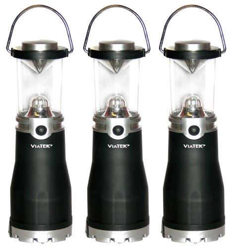 Viatek Hybrid Mini Lanterns, Set of 3