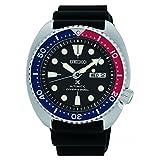 Seiko Men's Watch (Color: Black/Black, Tamaño: us:one size)
