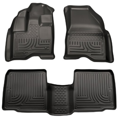 husky-liners-custom-fit-front-and-second-seat-floor-liner-set-for-select-ford-taurus-models-black