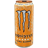 Monster Energy Ultra Sunrise, 16 Ounce (Pack of 24)