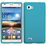 Asmyna LGP880CASKSO059 Slim Soft Durable Protective Case for LG Optimus 4X HD - 1 Pack - Retail Packaging - Tropical Teal