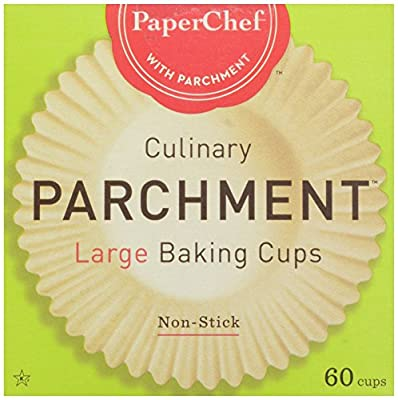 Paper Chef Parchment Cup Lg, 60 ct
