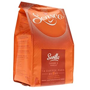 Senseo Sevilla, Caramel & Vanilla, New Design, 14 Coffee Pods