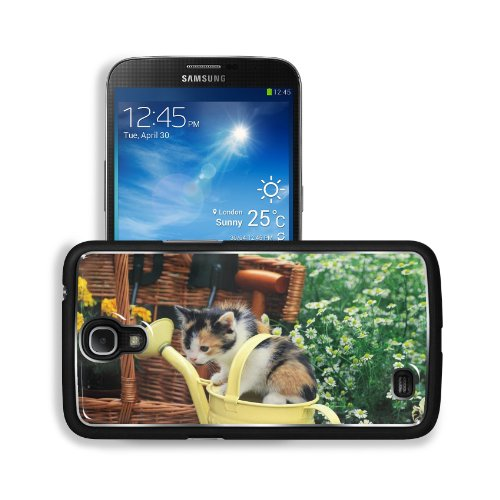Kitten Watering Can Spotted Sitting Toddler Samsung Galaxy Mega 6.3 I9200 Snap Cover Premium Aluminium Design Back Plate Case Customized Made To Order Support Ready 6 5/8 Inch (168Mm) X 3 9/16 Inch (91Mm) X 4/8 Inch (12Mm) Liil Galaxy Mega 6.3 Professiona