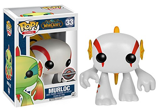 Funko - Figurine World of Warcraft - White Murloc Exclu Pop 10cm - 0849803056179