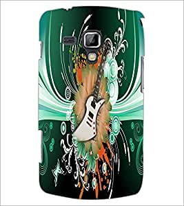 PrintDhaba Guitar D-4616 Back Case Cover for SAMSUNG GALAXY S DUOS 2 S7582 (Multi-Coloured)