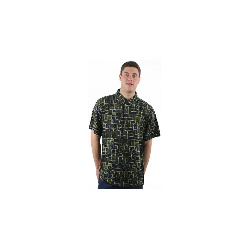 Haggar Men Short Sleeve Tropical Shirt Sports & Outdoors