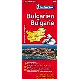 Bulgarien (Michelin Nationalkarte)