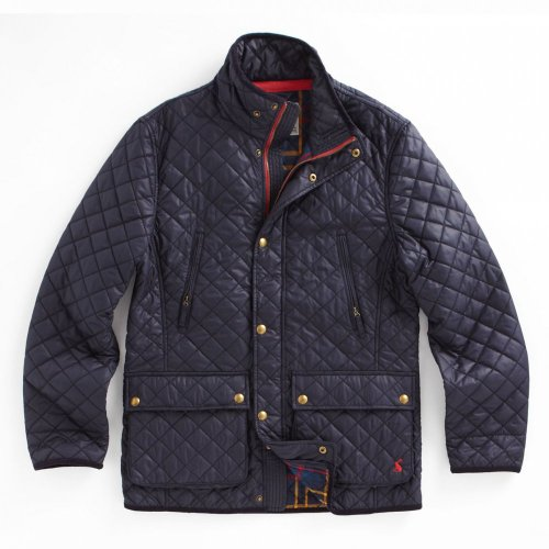 Joules Foxton Mens Quilted Jacket - Marine Navy - XXL