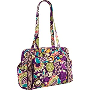 vera bradley make a change baby bag plum crazy. Black Bedroom Furniture Sets. Home Design Ideas