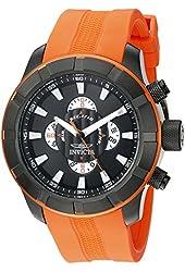 Invicta Men's 18614SYB S1 Rally Analog Display Quartz Orange Watch