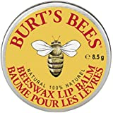 Burt's Bees Beeswax Lip Balm Tin, 8.5 grams (Pack of 6)