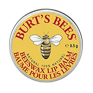 Burt's Bees Beeswax Lip Balm Tin, 8.5 grams (Pack of 6)