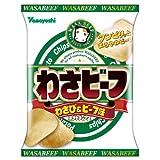 Amazon.co.jp: 山芳製菓 ポテトチップスわさビーフ 60g×12袋: 食品&飲料