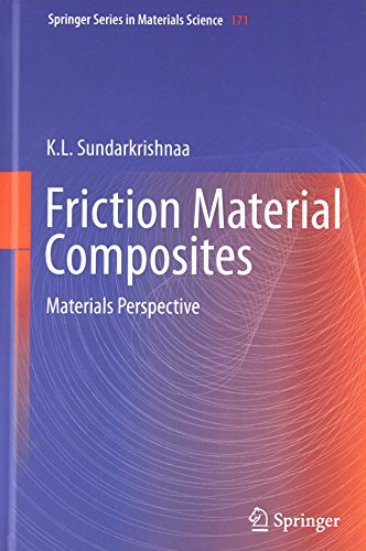 Friction Material Composites: Materials Perspective (Springer Series in Materials Science) PDF