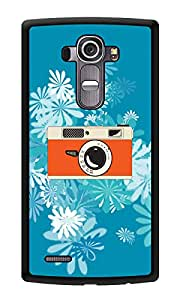 "Humor Gang Camera Daisy Printed Designer Mobile Back Cover For ""LG G4"" (3D, Glossy, Premium Quality Snap On Case)"