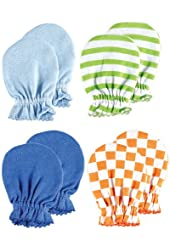 4-Pack Scratch Mittens