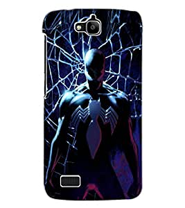 ColourCraft SuperVillain Design Back Case Cover for HUAWEI HONOR HOLLY