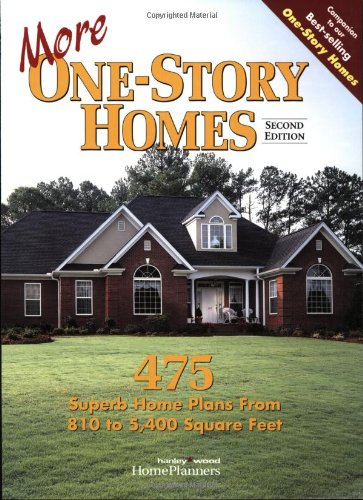 More One-Story Homes: 475 Superb Home Plans from 810 to 5,400 Square Feet (Narrow House Plans compare prices)