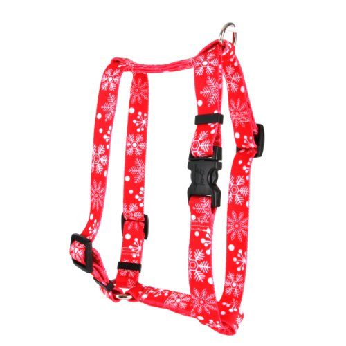 Yellow Dog Design Pet Harness, Small/Medium, Red Snowflakes (Yellow Dog Design Harness Medium compare prices)