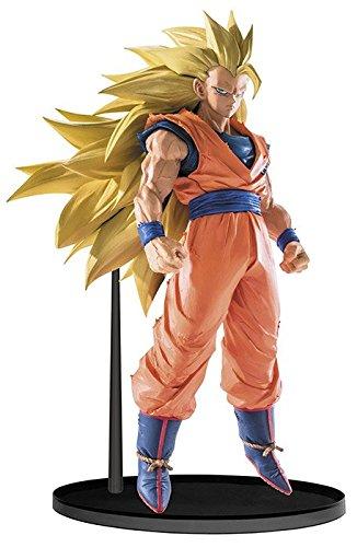 Banpresto - Figurine DBZ SCultures Big Budokai 6 Vol5 - Son Goku Super Saiyan 3 16cm - 3296580343881