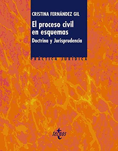 El proceso civil en esquemas: Doctrina y Jurisprudencia (Derecho - Práctica Jurídica)