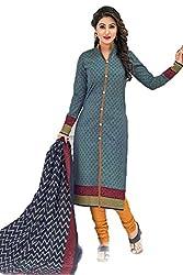 Gugaliya Women's Unstiched Superior Cotton FASHION SALWAR,KAMEEZ & DUPATTA Suit ( P514 )