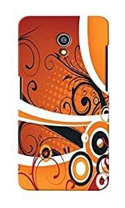 KnapCase Abstract Designer 3D Printed Case Cover For Micromax Canvas Fire 4G Q411