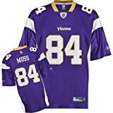 Reebok Minnesota Vikings Randy Moss Replica Jersey XX Large