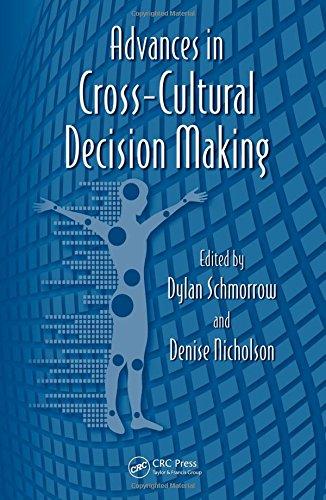 Advances in Cross-Cultural Decision Making (Advances in Human Factors and Ergonomics Series)