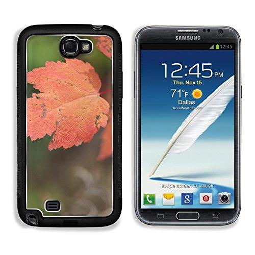Liili Premium Samsung Galaxy Note 2 Aluminum Backplate Bumper Snap Case North Shore Trip October 2013 Maple Blaze Image 10555441056