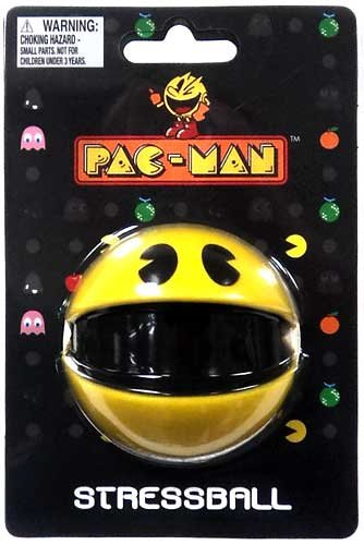 pacman-stress-ball-video-game