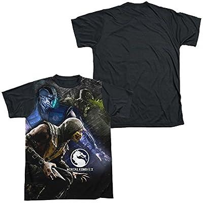 Sublimation Black Back: Three Of A Kind Mortal Kombat X T-Shirt