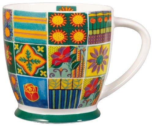 Dee Hardwicke Patchwork Mug, Fine Bone China