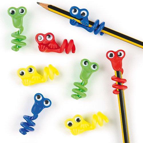 Lot de 8 Décorations pour Crayon - Motif monstre - Accessoires fantaisie pour crayon