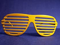 Shade Sunglasses Club Stronger Glass Cool Shutter Yellow / Gold