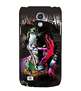 Printvisa Multicoloured Smiling Monster Back Case Cover for Samsung Galaxy S4::Samsung Galaxy S4 i9500