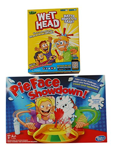 Wet Head & Pie Face Showdown - 2 Game Bundle (Wet Head Hat compare prices)