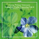 Telemann: Complete Violin Concertos 4 (CPO: 777242-2) (Elizabeth Wallfisch/ L'Orfeo Barockorchester)