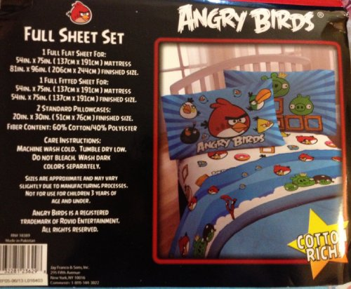 Angry Birds Bedding 6920 front