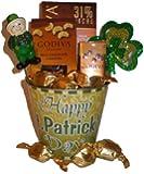 Happy St. Patrick's Day! Pot of Godiva Gold Gift Basket-small