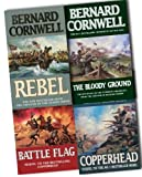 Bernard Cornwell Bernard Cornwell Collection Starbuck Chronicles 4 Books Set Pack RRP: £30.96 (Battle Flag, The Bloody Ground, Copperhead, Rebel)