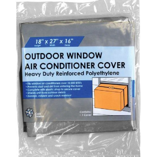 Frost king ac2h outside window air conditioner cover 18 x for 12 inch high window air conditioner