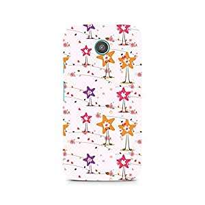 TAZindia Printed Hard Back Case Cover For Moto G