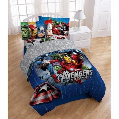 Superhero Bedding Twin 9230 front