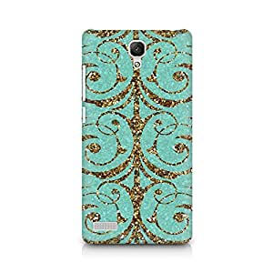 RAYITE Golden Sparkle Vintage Premium Printed Mobile Back Case For Xiaomi Redmi Note back cover,Xiaomi Redmi Note back cover 3d,Xiaomi Redmi Note back cover printed
