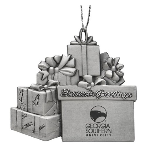 Georgia Southern University - Pewter Gift Package Ornament at Amazon.com